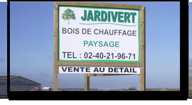 Jardivert bois de chauffage Villeneuve-en-Retz 44 Pornic